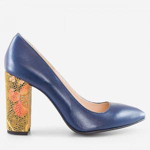 pantofi online stiletto albastru 1