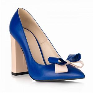pantofi online stiletto chic albastru 1