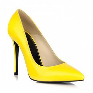 pantofi online stiletto galben 1