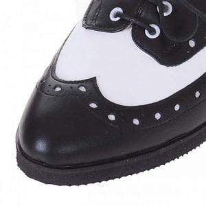 pantofi oxford negru din piele naturala s107 1