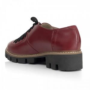 pantofi oxford piele bordo 100 1