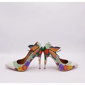 pantofi pictati manual anafashion la comanda 1