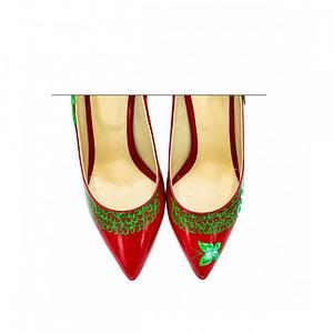 pantofi pictati manual anafashion 1  3