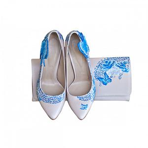 pantofi pictati manual blue ocean 1