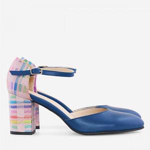 pantofi piele albastri ivy d19 1