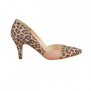 pantofi piele animal print meda n5 1