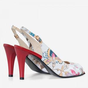 pantofi piele delia cu flori d12 1