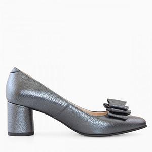 pantofi piele gri sidef 1