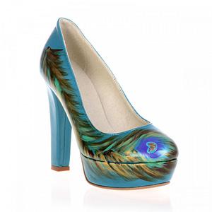 pantofi piele naturala lindi pictati manual 09