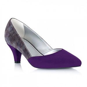 pantofi piele naturala muse mov 1
