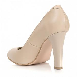 pantofi piele naturala office nude s13 1