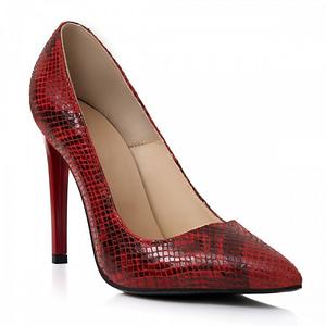 pantofi piele naturala rosii muse n350 1