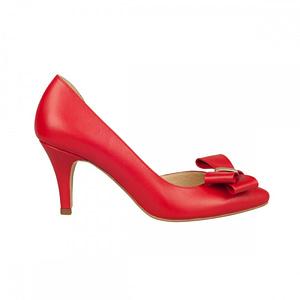 pantofi piele naturala roza n75 2