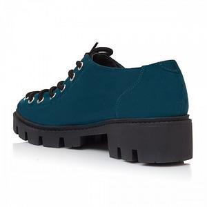 pantofi piele naturala turcoaz anafashion 1