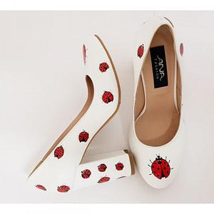 pantofi piele pictati gargarite 1