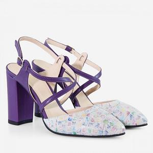 pantofi piele regina d505 1
