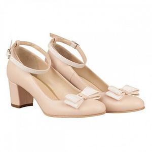 pantofi piele roza n70 1