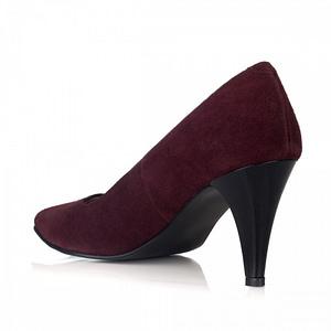 pantofi piele simply bordo v05 1