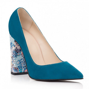 pantofi piele stiletto blue candy s102 1