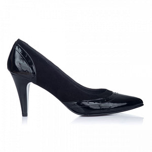 pantofi piele stiletto combi negru v2 1
