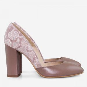 pantofi piele stiletto creamy d03 1