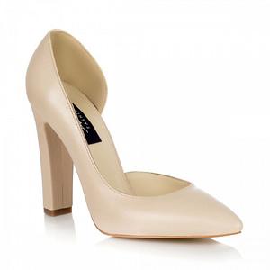 pantofi piele stiletto glam nude l05 1
