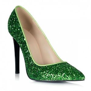 pantofi piele stiletto verzi 1