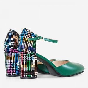 pantofi piele sweet verzi d3 1