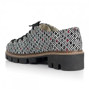 pantofi piele tip oxford imprimeu anafashion 1