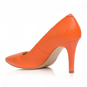 pantofi portocalii stiletto aida c09 1