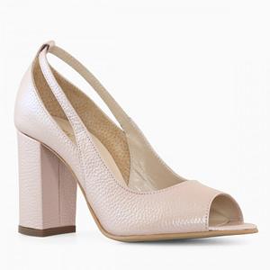 pantofi rose sidef din piele gily d52 1