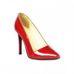 pantofi rosii din piele lacuita carol l15 1