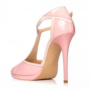pantofi roz pal la comanda 1
