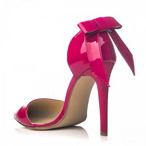 pantofi stilett cu funda ciclam la comanda1 1