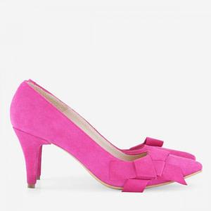 pantofi stilett fuchsia la comanda 1