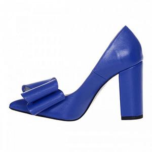 pantofi stiletto albastru anafashion 1