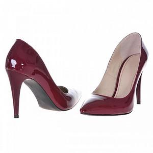 pantofi stiletto bordo classy s89 1