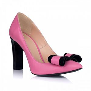 pantofi stiletto glam cu funda roz s3 1