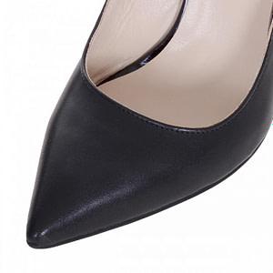 pantofi stiletto negri din piele naturala nadine s120 1