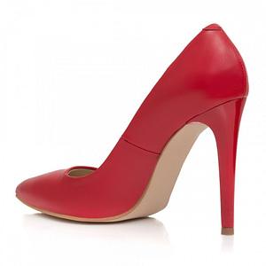 pantofi stiletto rosu la comanda 1