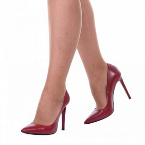 pantofi stiletto rosu lucy s61 1