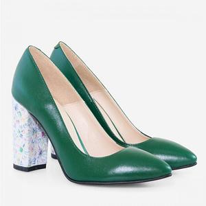 pantofi verzi din piele nazrim d11 1