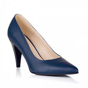 pantofi piele simply bleumarin 1
