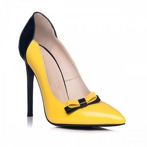stiletto galben negru fashion 1 1