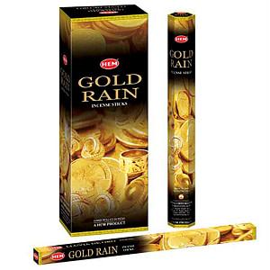 Betisoare parfumate HEM GOLD RAIN BTP Gold Rain
