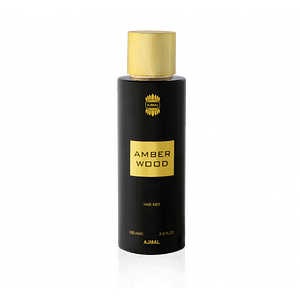 amber wood hair mist