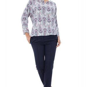 bluza alba cu imprimeu br1259 5154 1
