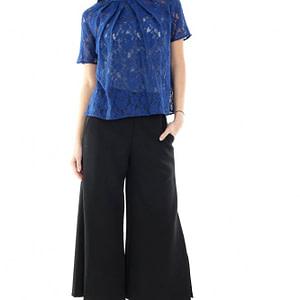 bluza albastra din dantela clb055 5091 1