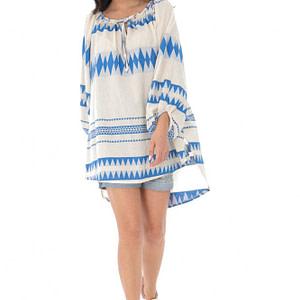 bluza boho style oversize blue roh br2307 9370 1