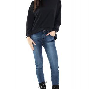 bluza neagra hi low br1216 4985 1